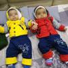 Twins of Neerja and Ashok Sharma